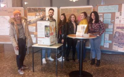 Handy-Sammelaktion an den Berufsbildenden Schulen Sophie Scholl