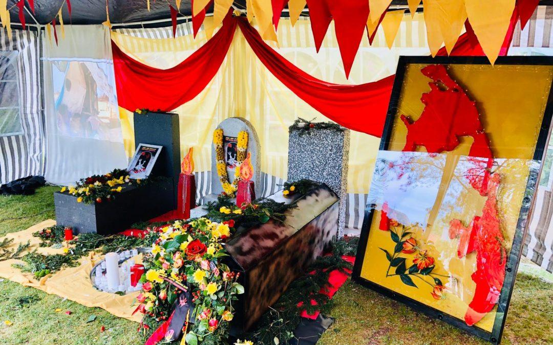 Mullivaikkaal Gedenktag des Völkermordes der Eelam-Tamilen in Sri Lanka
