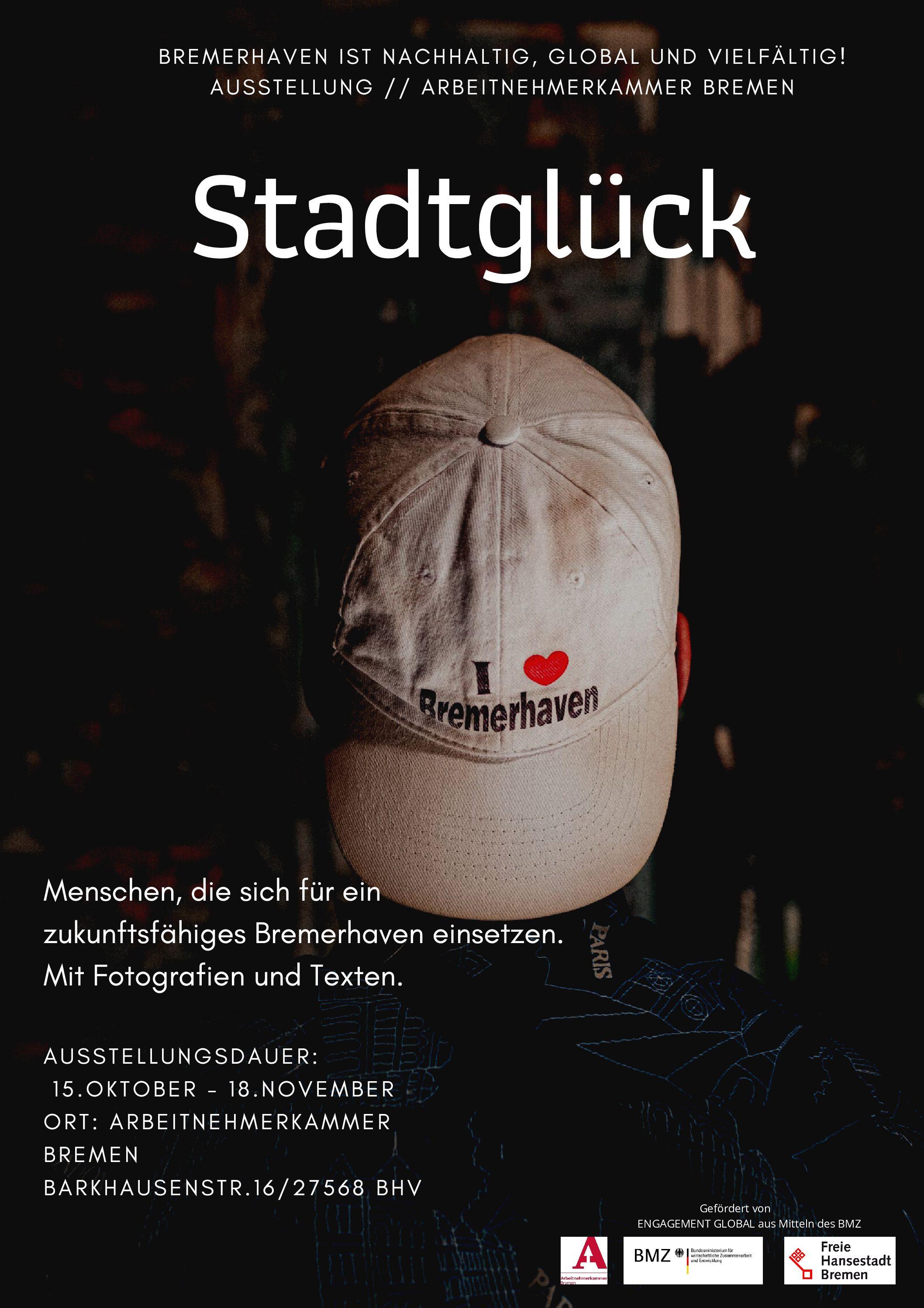 StadtGlück Ausstellung in der Arbeitnehmerkammer – 15.10. – 18.11.2020
