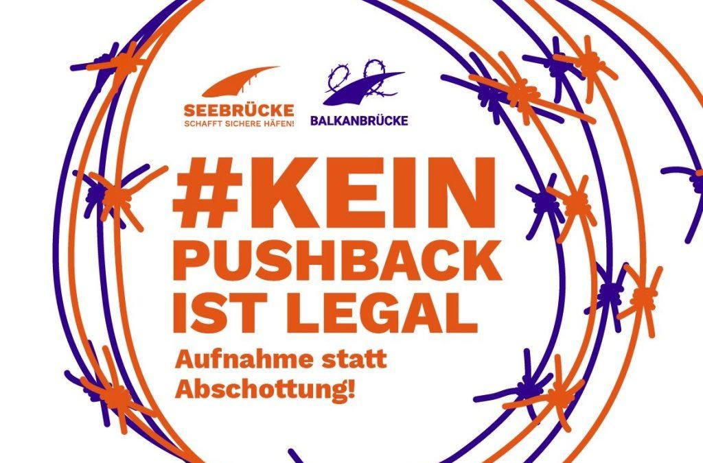 """Kundgebung """"Aufnehmen statt Abschotten"""" nun am 01.03. um 16.00 Uhr auf dem Ernst-Reuter-Platz, Lehe"""