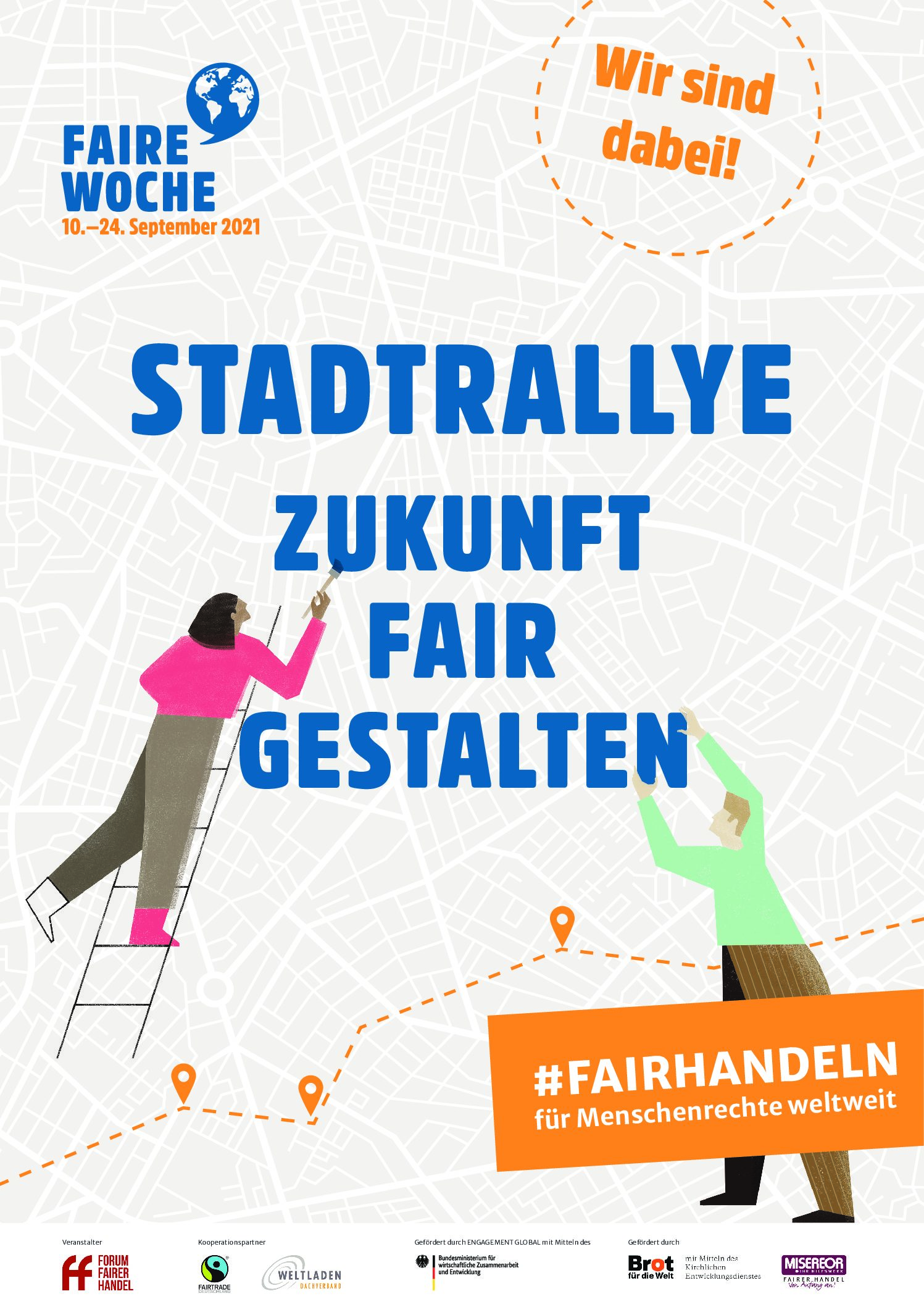 Stadtrallye in der Fairen Woche – attraktive Gewinne!